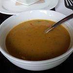 Sweet Potato Potato soup