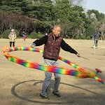 Diabolo helps keep the body fit.