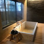 Private onsen in our suite