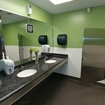 Pretty clean restrooms.