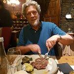 Rump steak deluxe...