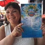 Pocho's menu card