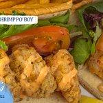 New Orleans Style Shrimp Po' Boy