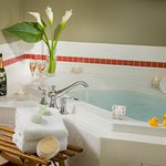 Relax in our jetted baths