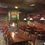 Dining Room of Trout House in Gatlinburg