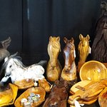 Handcrafted pieces at The Millstone Gallery