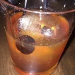 Rye Manhattan cocktail -- tasty whiskey drink!