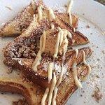 Praline french toast