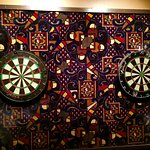 The Big A Lounge... Real Darts!