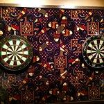 The Big A Lounge... Real Darts!
