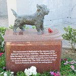 Memorial to TOTO from the Wizzard of Oz