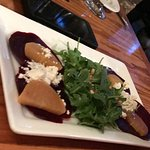 The beet appetizer is my favorite