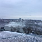 A view of Niagara Falls from Hilton Fallsview Hotel and Suites