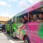 Irie tour bus