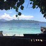 View from Tami's Hideaway on Gili Air (lunch spot)