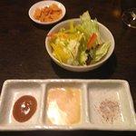 salad salt and souce