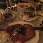 Our wonderful dinner