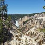 long view of falls
