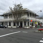 The outside of the Martinborough Hotel