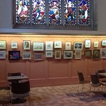 The church also hosts occasional art and photographic exhibitions
