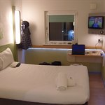 My room (3002) had a large and comfortable double bed and a small, flat screen television.