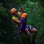 Going with one of the leaders on Extreme Canopy