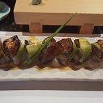 Shrimp tempura eel roll