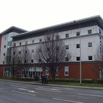 The Ibis Budget Cardiff Central is a small, modern, budget hotel situated near Cardiff City Cent