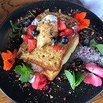 Avocado Smash and French Toast @ Addington Coffee Co-op