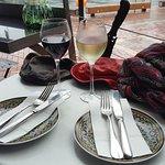 great settingfor a casual Al Fresco snack meal. Kazbah
