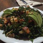 Succulent Kale salad!