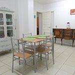 Breackfast and kitchen area