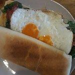 Green eggs and ham! YUM