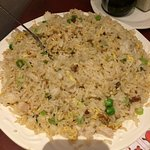 Chicken Fried Rice (such a big and tasty portion)
