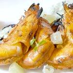Entree Tandoori Garlic Prawns