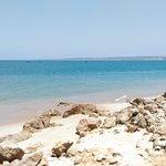 Praia junto ao Carpe Diem