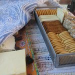 Cheese and Crackers - Enjoyed on Tour on Route from Winery 1 to Winery 2, Napa, Platypus, Napa,