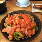 The tastiest sweet and sour chicken I've had. This place is my absolute favourite.
