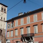 Palazzo Borgogna e chiesa di San Francesco