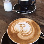 Barista art was a pleasant extra to an already perfect cuppachino