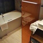 The bathtub!