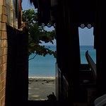 BEACH FROM BUDGET ROOM BALCONY