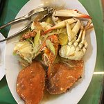 Crabs in Ginger Sauce