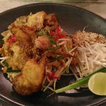 Pad Thai with Soft Shell Crab