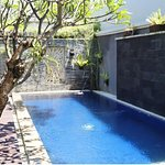 Villas private pool