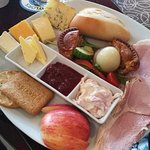 """Small"" Ploughmans Lunch at Stump Cross"