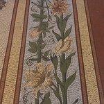 mosaics cover the floor!
