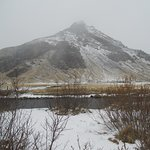 Landscape near Skogarfoss
