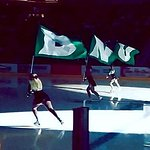 UND Hockey Cheerleaders at The Ralph!