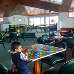 reading room and play area